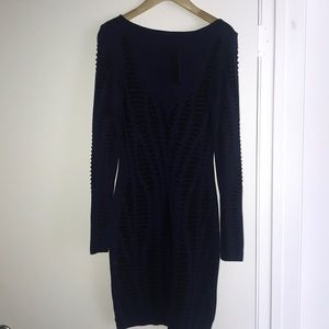 RVN navy/blk dress new Size small